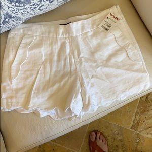 Linen Cynthia Rowley shorts